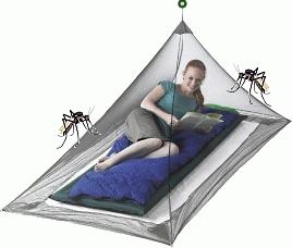 Myggenet - imprægneret net, myggehatte, fluenet og vandrensnings udstyr hos Rejsequip