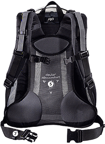 Deuter Futura Air ryg