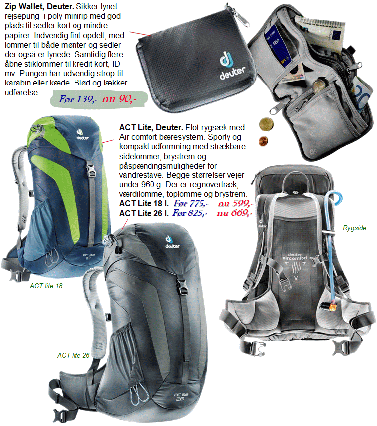 Deuter ACT lite 18 l.